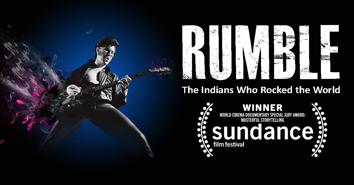 A new feature documentary | RUMBLE: The Indians Who Rocked